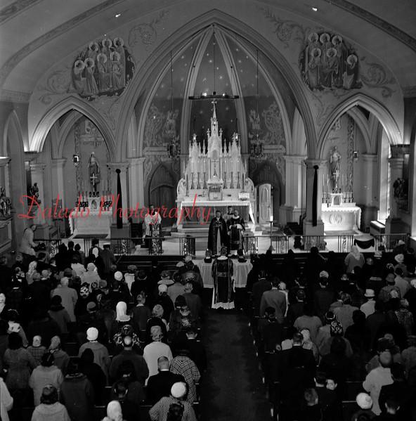 (Feb. 1964) Our Lady of Mount Carmel.