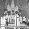 (Feb. 1960) With the Most Rev. George Leech, Bishop of Harrisburg, officiating, around 150 people received the Sacrament of Confirmation at Our Lady of Mount Carmel church.