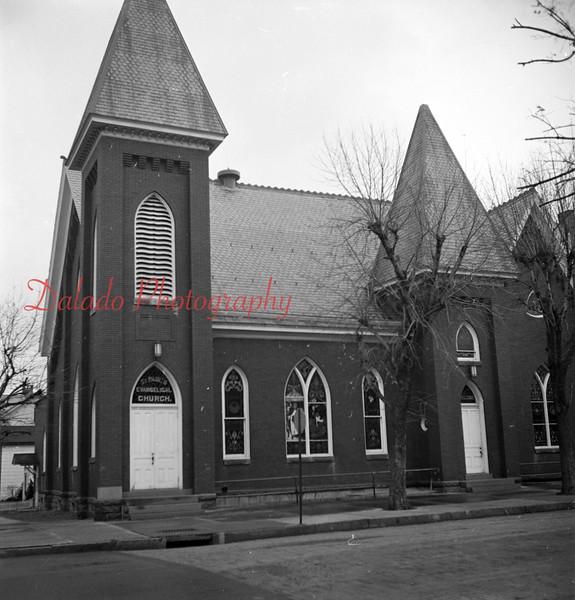 (Nov. 1957) St. Paul Evangelical United Brethren Church in Mount Carmel.
