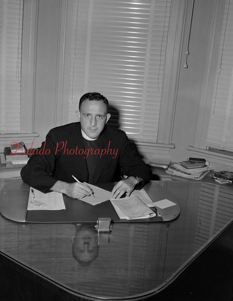 (Sept. 1956) Father Thomas Leitch.