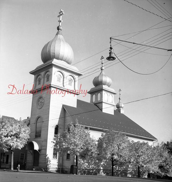 (1957) St Michael's Orthodox Church, Mount Carmel.
