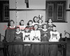Shown on April 10, 1952, is the Junior Choir of the Episcopal Church in Kulpmont. Pictured are, front row, from left, Miss Delores Eisenhower, director; Judy Lauer, Joseph Lemon, Daniel Rustchak, Ann Schreffler and Gerald Mace; back, Larry Mace, Peggy Kay Shutt, Barbara Mace and Bonny Rustchak. Cucifex bearer is John Norstedt.