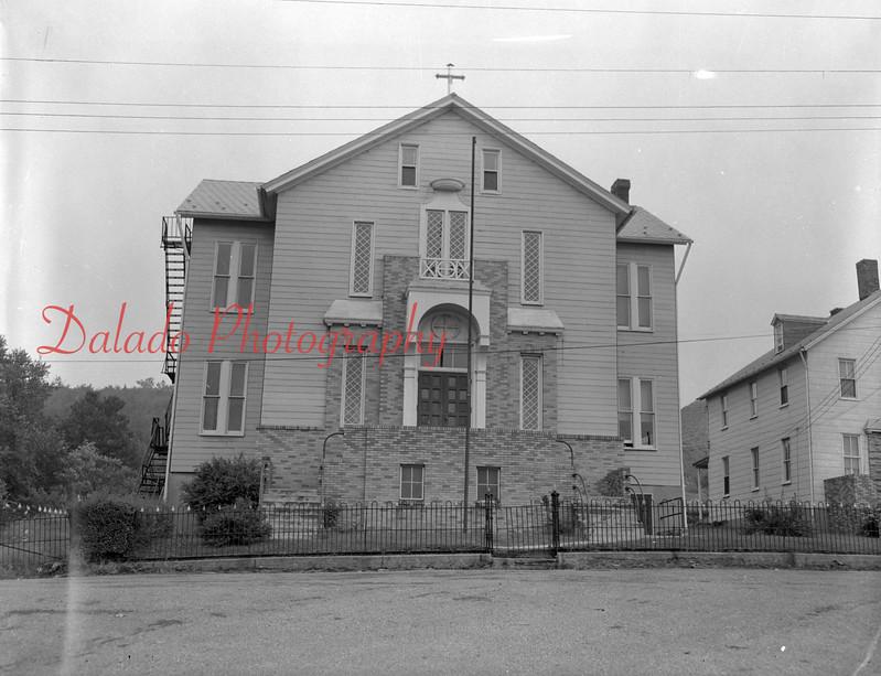 (1954) Locust Gap church.