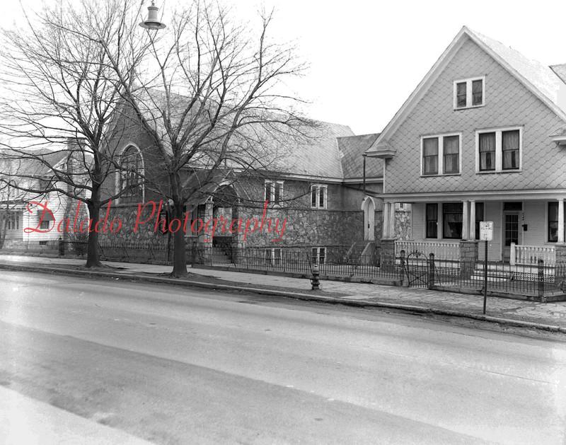 (1954) Church in Kulpmont.