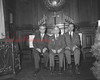 (12.23.54) Newly elected officers of the Shamokin/Coal Township Ministerial Association are, from left, Rev. Harold Baer, pastor of St. John's United Church of Christ; Rev. R.S. Heberlig, pastor of Emmanuel E.U.B., Zion and Trevorton Road; Rev. Herbert Plank Beam, pastor of Lincoln St. Methodist.