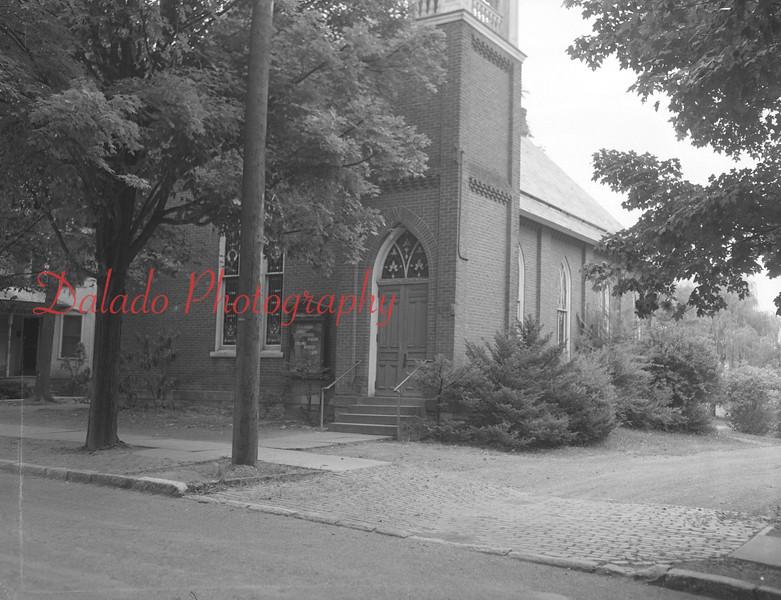 (Aug. 1954) St. John's Lutheran Church.