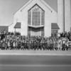 (1963) Children in front of St. Casimir's Church, Kulpmont.