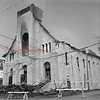 (1971) Aftermath of St. Edward's Church fire.