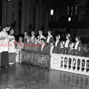 (11.22.1956) New officers of the student council of Shamokin Catholic High School of St. Ed's. Shown are, kneeing, from left, James Firek, Thomas Buggy, John Fritzpatrick, Kathryn Conway, Mary Janelle De Piante, Frances Kelley and Frances Durdock; standing, Patrick Brennan, Patrick Yucha, Anthony Curran, Patricia Buggy, Jane Ann Donlan, Margaret Procopio and Margaret Flanagan.