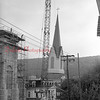 (08.20.73) New steeple for St. Edward's Church.