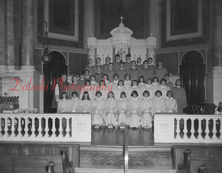 (May 1966) St. Ed's graduation.