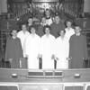 (1962) St. John's United Church of Christ confirmation class.