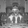 (1963) St. John's United Church of Christ confirmation class.