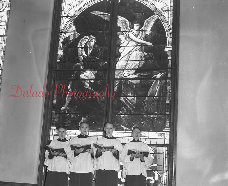 (04.05.53) St. John's Church of Christ choir.