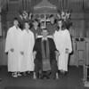 (1973) St. John's United Church of Christ confirmation class.