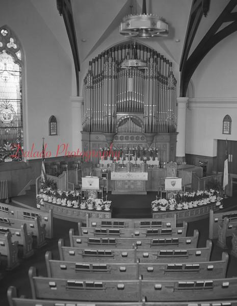 (1972) St. John's United Church of Christ at Easter.
