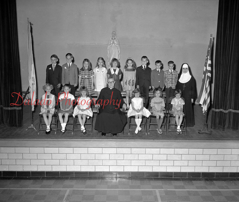 (1967) St. Mary's closing April 1967. Grades 1 and 2.