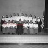 (1967) St. Mary's closing April 1967. Altar boys.