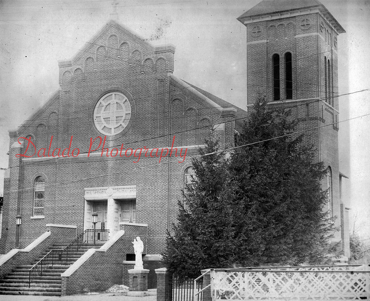 (1964) St. Anthony of Padua Church in Ranshaw- In 1919, the Rev. Thomas Bartol, a native of Springfield, was sent by the Bishop of Harrisburg to establish a parish in Ranshaw. The property of the late Theodore Meisberger, former Coal Township High School superintendent, was chosen. Construction began in May of 1920. A school was also erected in 1925.
