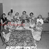 (07.07.57) Doughnut Day at St. Stephens Church. Pictured are, from left, Florence Kalonoski, Clara Buckwash, Anna Zavarick, Victoria Coneliski, Pauline Stesney and Sophia Firek; standing, Joan Myslinski, Mary Piaseckie, Kathryn Wesloski, Monica Rutkoski, Jean Broscious and Pauline Gross.