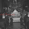 (04.21.1955) Kneeing in adoration of the Most Blessed Sacrament exposed on the main alter of the Transfiguration Church are, from left, Mary Ann Chowka, the Rev. Myron Plekon, Pastor Paul Katanchik, Jack Kohut, Andrew Yanishak, Michael Weslatsky and Virginia Tehansky.