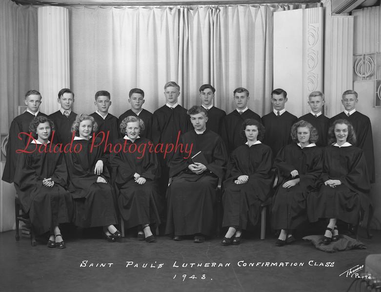 (1948) Pauls Lutheran, Gowen City.