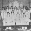 (08.22.57) The Cherub Singers of the Trevorton Methodist Church are, front row, Sally Wilkinson, Elaine Kieffer, Max Cook, Terry Wilkinson, Louella Stepp, Linda Reeder. Linda Schankeweiler, Bryon Gross and Doris Logerman, director; William Stoud, Diane Klinger, Thomas Allen, Bonnie Reeder, James Barnhart, Cheryl Tressler and Raymond Taylor.