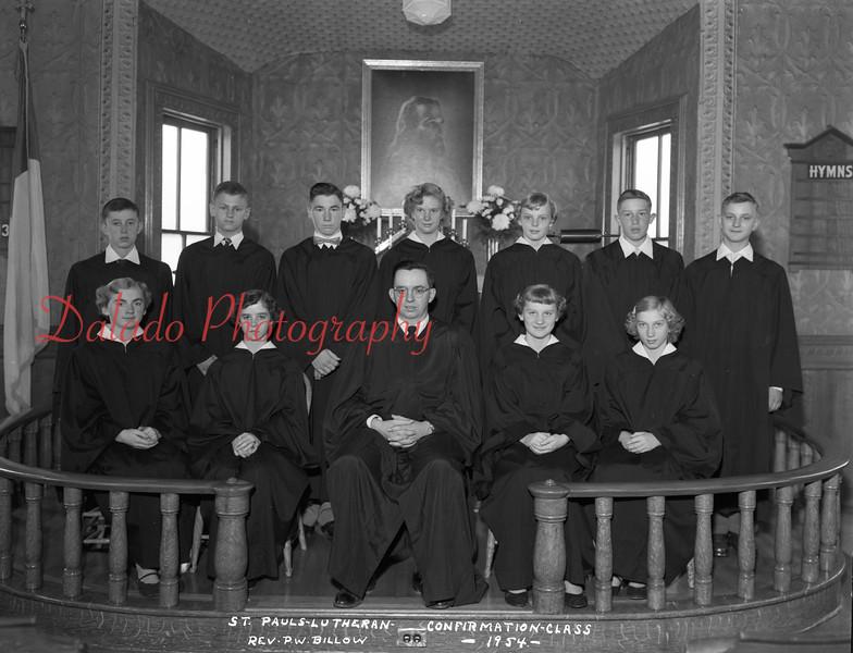 (1954) Pauls Lutheran, Gowen City.