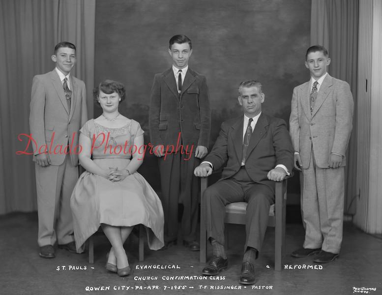 (1955) Pauls Lutheran, Gowen City.