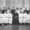 (1946) Zion Evangelical Lutheran confirmation class.