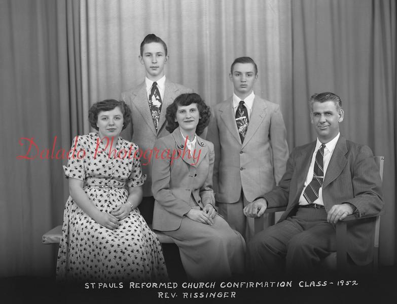 (1952) Pauls Lutheran, Gowen City.