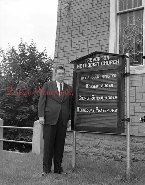 (August 1957) Methodist Church, Trevorton.