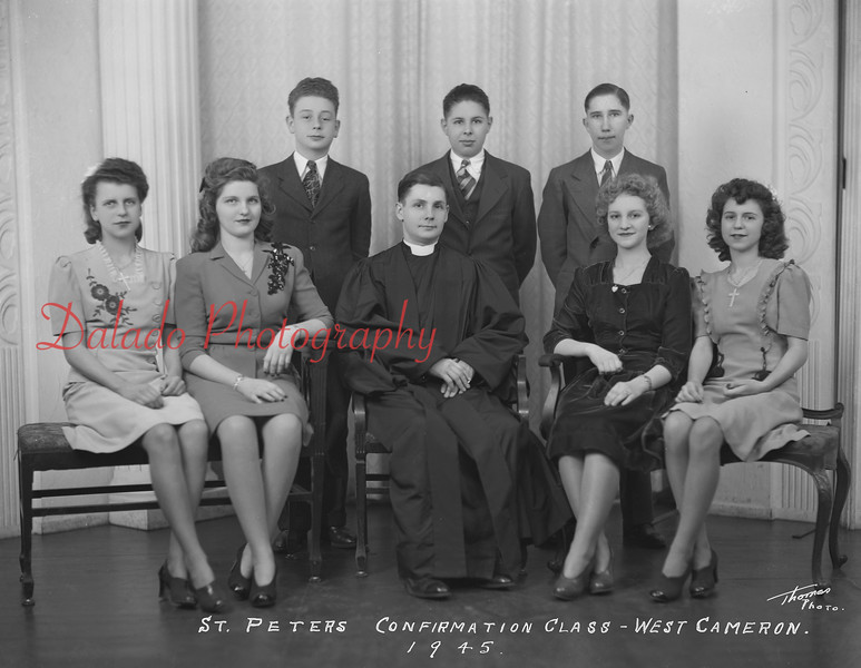 (1945) Peters Evangelical and Reformed, West Cameron Township.