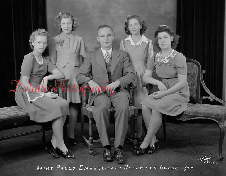(1943) Pauls Lutheran, Gowen City.
