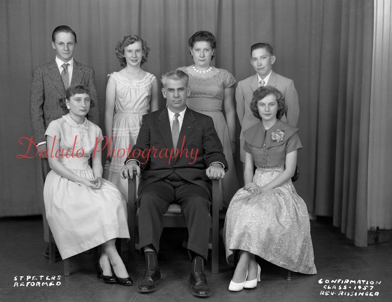 (1957) Peters Evangelical and Reformed, West Cameron Township.