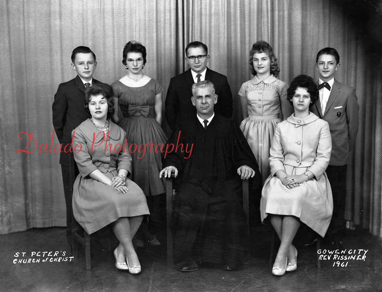 (1961) Peters Evangelical and Reformed, West Cameron Township.