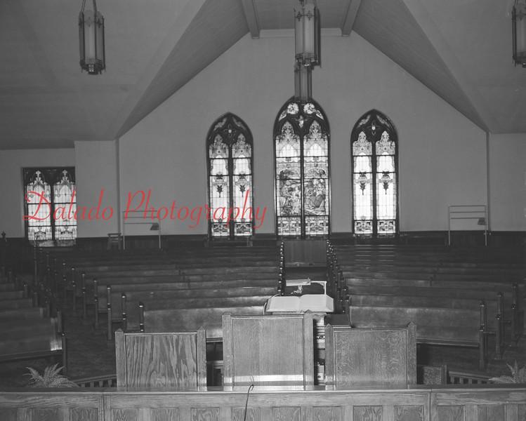 (1964) Trinity Evangelical Church on Arch Street.