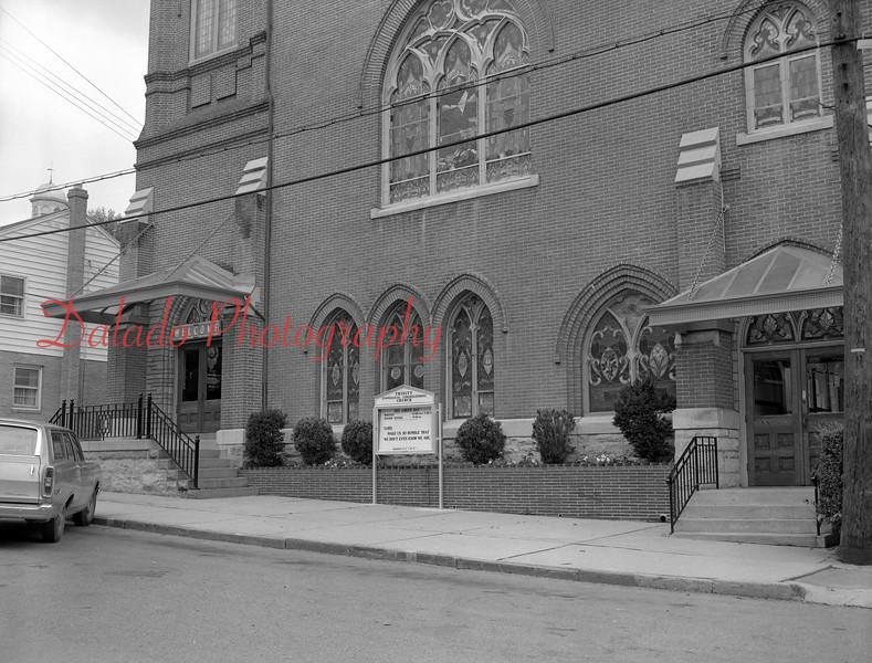 Trinity Evangelical Church on Arch Street.