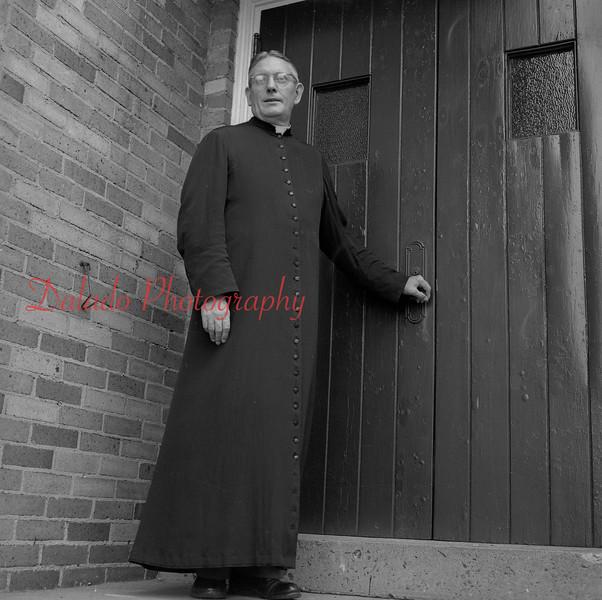 (Aug. 1958) Unknown church.