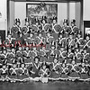 (March 1964) Majorette group.