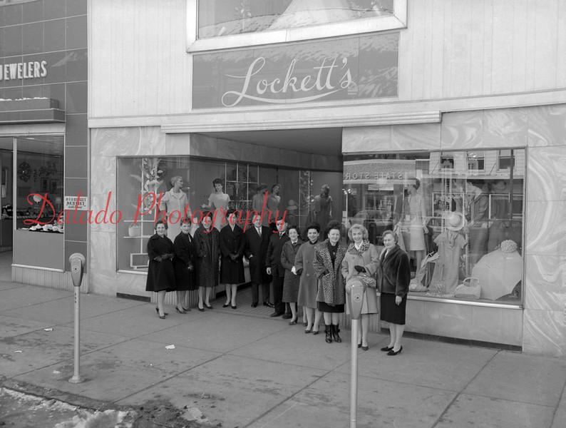 (March 1964) Lockettes.