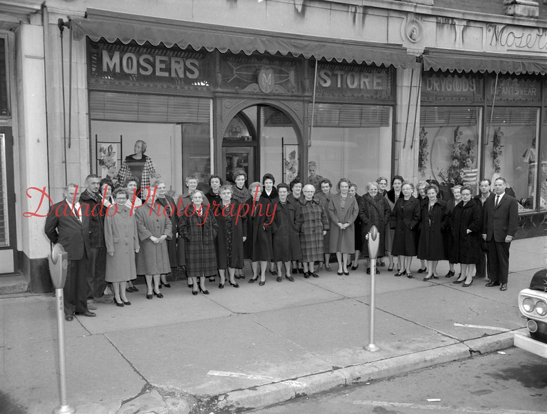 (1964) Mosers- Was located in ground floor of building at the southeast corner of Independence and Ninth streets.