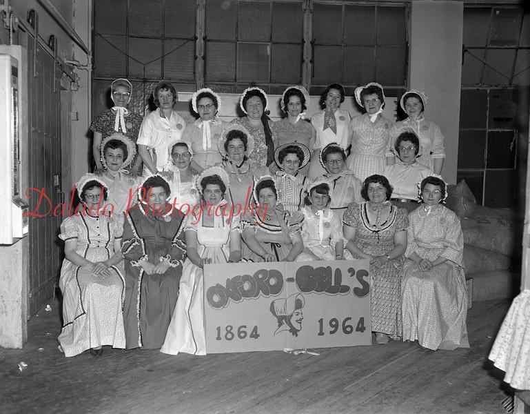 (1964) Centennial group, Oxford Bell's.