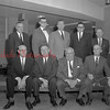 (1964) Centennial, Shamokin doctors. Pictured in this photo is Dr. Victor J. Baluta, front row, third from left. The doctor in the back row, second from the left, is Dr. J. Mostyn Davis. Dr. Nicholas Spock is the man in the back row, fourth from left; and Dr. Gheris is fifth from left in the back.