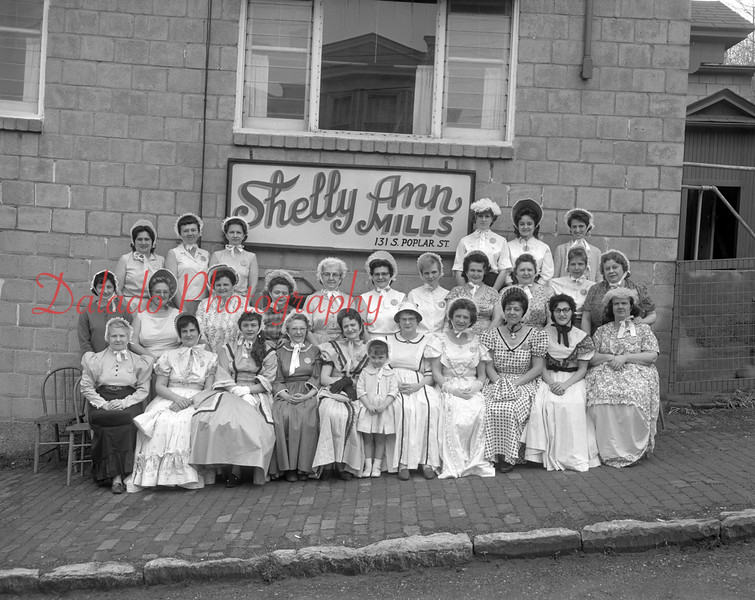 (1964) Centennial group, Shelly Mills Belles.