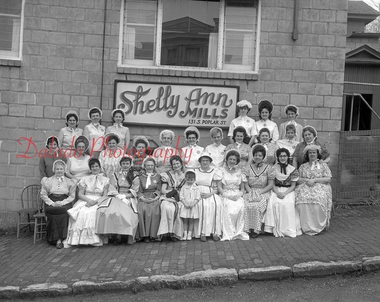 (1964) Centennial group, Shelly Mills Belles.