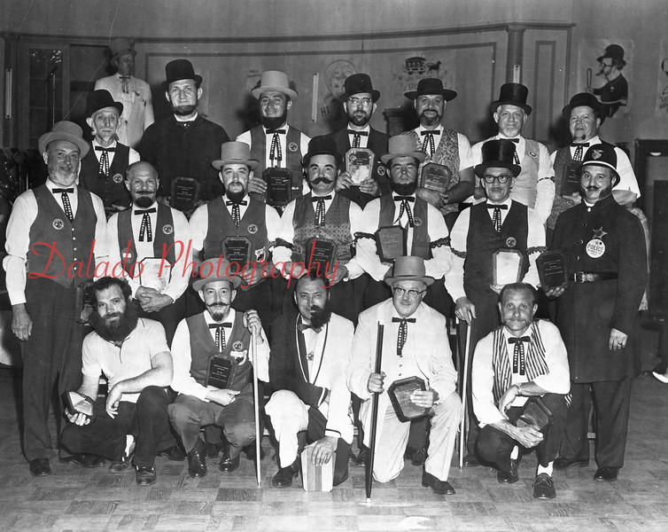 (1964) Best Beards Competition.