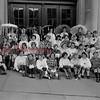 (1961) Y-teens in front of the Shamokin High School.