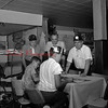 (1964) Centennial group. Men at Sager's Hotel.