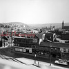 Shamokin and Independence streets- You can see the towers for Saint Edward Church, Transfiguration of Our Lord Ukrainian Catholic Church and Grant Grade School. The buildings in the foreground were torn down some time in the beginning of the 21st Century.